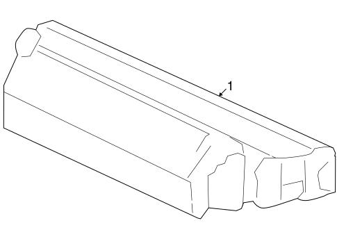 light assembly high mount stop honda 34270 snc a02. Black Bedroom Furniture Sets. Home Design Ideas