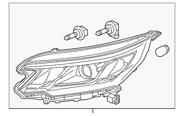 HEADLIGHT ASSEMBLY, LEFT[drvr]