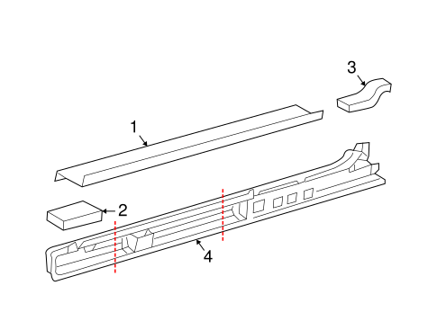 BODY/ROCKER PANEL for 2005 Scion tC #1