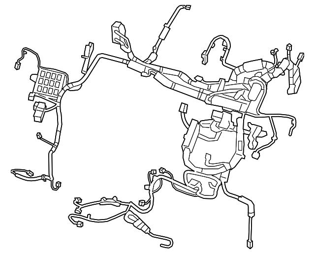 Wire Harness Cartoon