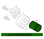 Oil Filter - Land-Rover (LR031439-FP)