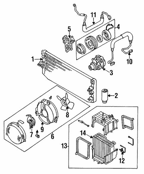 Toyota 88410-12270 A//C Compressor Clutch