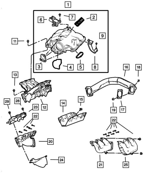2005 Dodge Caravan Fuel Line Diagram