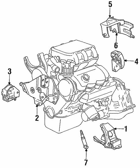 1994 Dodge Spirit Engine Diagram