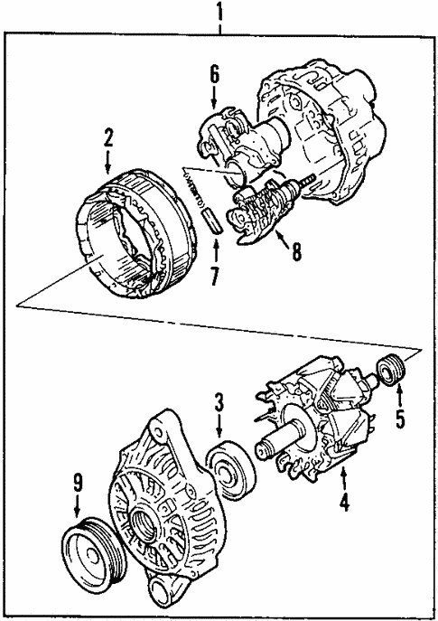 Alternator For 2006 Suzuki Grand Vitara