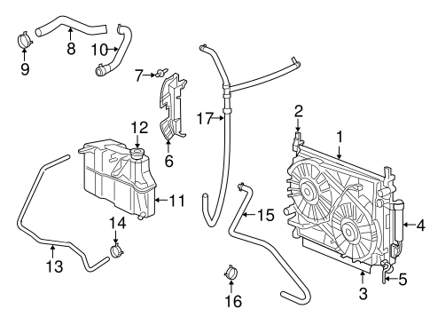 radiator  u0026 components for 2005 dodge magnum