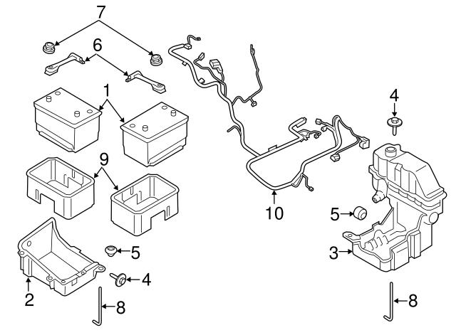 ford v10 parts diagram