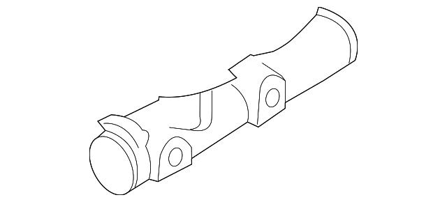 Genuine Chrysler 5011260AB Brake Master Cylinder