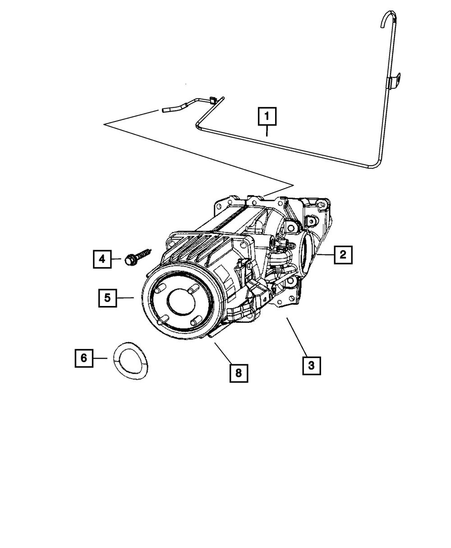 Mopar MD707184 Manual Trans Output Shaft Seal