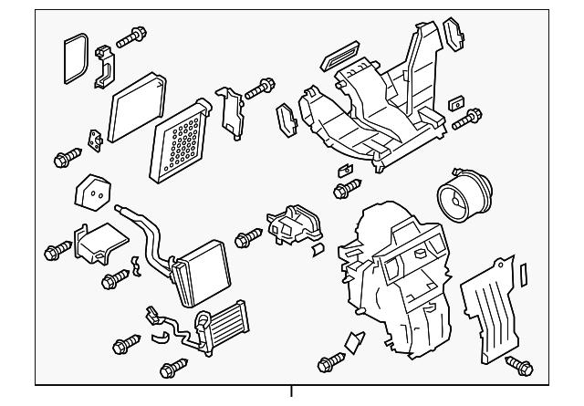 2015 2018 Chevrolet City Express Ac Heater Assembly 19318086
