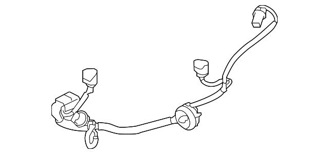 subaru wire harness  84981al00a