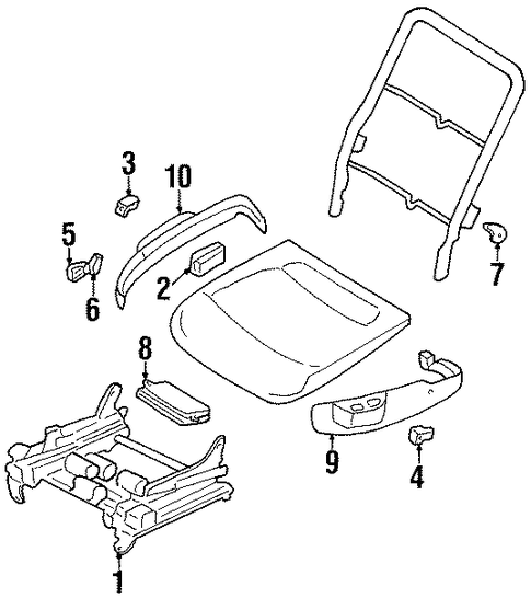 power seats for 1999 chrysler lhs parts