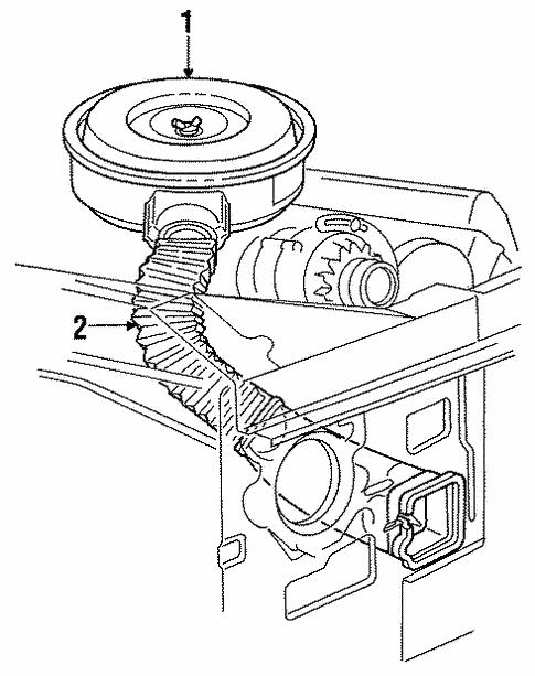 Ford F 250 Engine