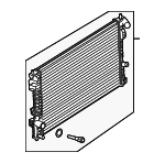 Radiator - Ford (DB5Z-8005-EA)