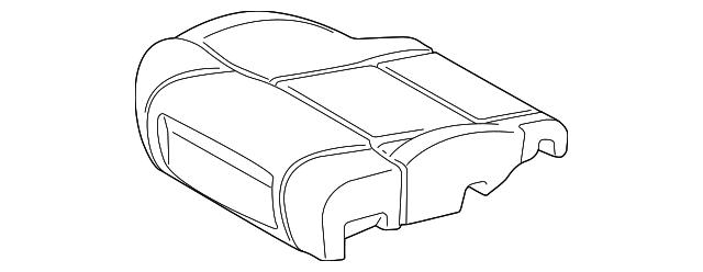 2016 2019 Toyota Tundra Seat Cushion Pad 71512 0c111