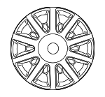 Wheel Cover - Mopar (4726433AA)