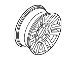 Wheel, Alloy - Ford (HC3Z-1007-C)