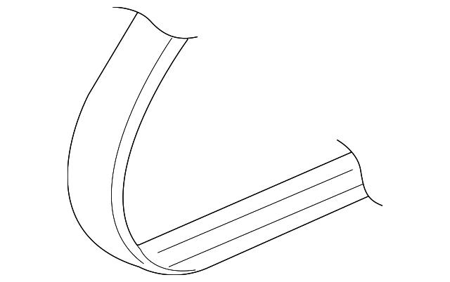 Genuine Honda Serpentine Belt 31110