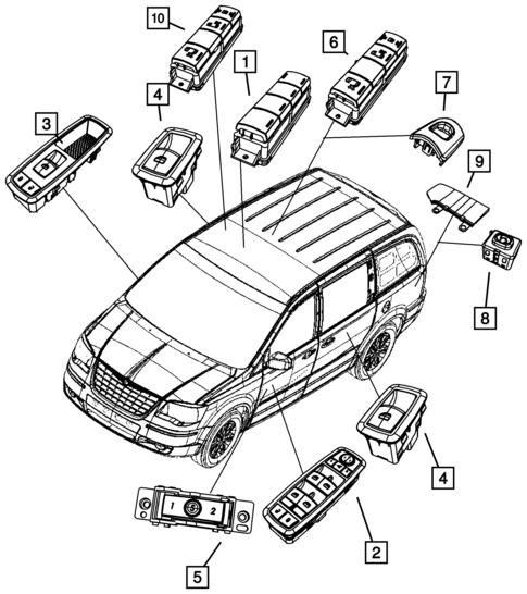 Dodge Caravan Heater Core Valve
