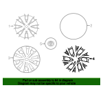 Wheel Cover - Toyota (42602-0D410)