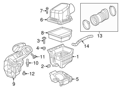 Air Intake for 2014 Dodge Dart   Mopar PartsMopar Parts - Mopar Online Parts