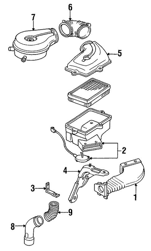 air inlet for 1991 cadillac eldorado
