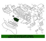 Cup Holder - Land-Rover (LR087454-FP)