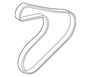 Serpentine Belt - Hyundai (25212-2B030)