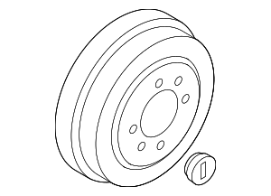Brake Drum - Nissan (43206-CJ90A)