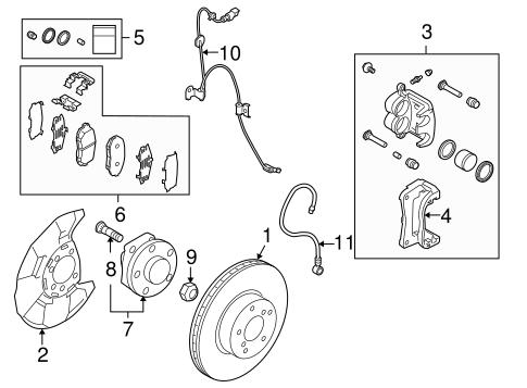 Anti Lock Brakes For 2010 Subaru Forester Subaru Parts Depot