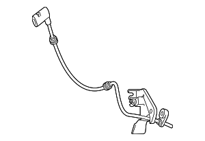 Rear Speed Sensor - Mercedes-Benz (253-905-25-00)