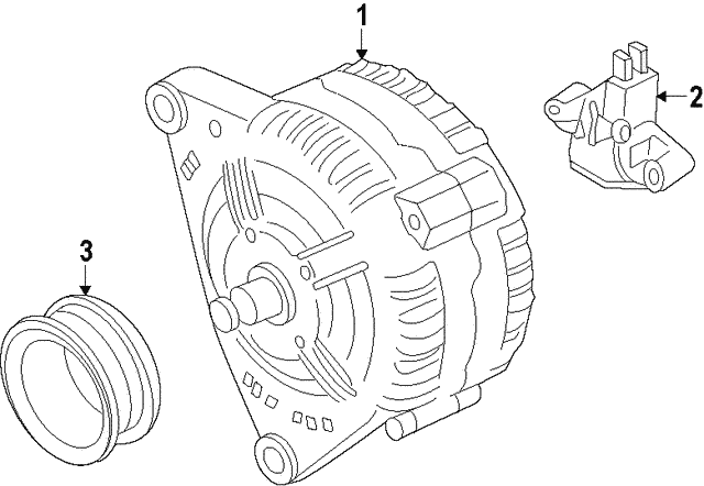 Alternator - Volkswagen (04E-903-025-J)