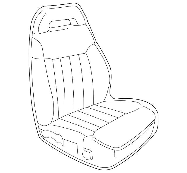 seat assembly gm 15728243 gmpartsdirect Custom S10 Seats seat assembly