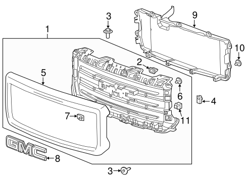T14400108 Wireing diagram 1976 gmc k1500 also Grille And  ponents Scat in addition Boston Strong Coloring Pages furthermore  on 2014 gmc sierra all terrain