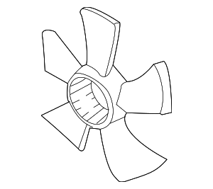 Fan, Cooling - Acura (19020-RK2-A71)