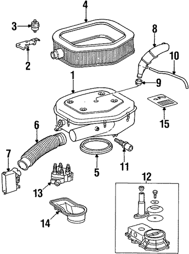 Air Cleaner Mount Bracket