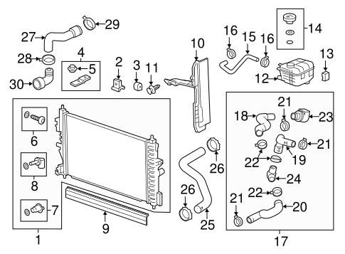 2012 chevy cruze coolant hose diagram