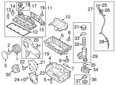Engine Parts for 2014 Volkswagen Jetta | VW Parts Vortex | 2014 Vw Jetta Engine Diagram |  | VW Parts Vortex