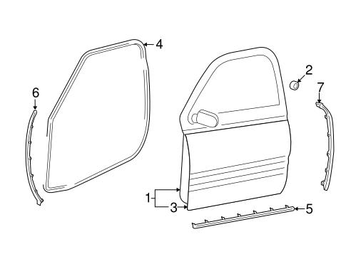door  u0026 components for 2013 ram 1500