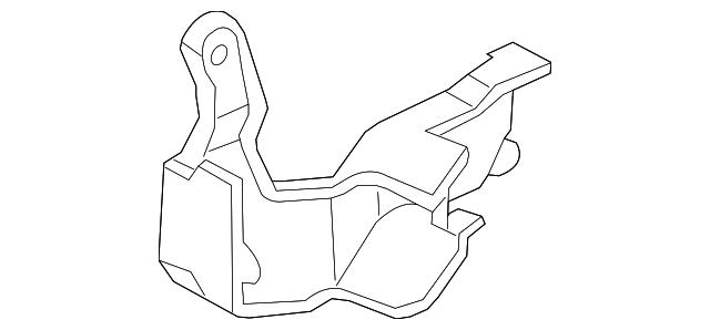 2003 2008 Honda Pilot 5 Door Protector R Rear Door Rod 72639 S9v