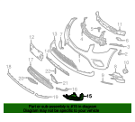 Lower Trim - Mercedes-Benz (253-885-81-00)