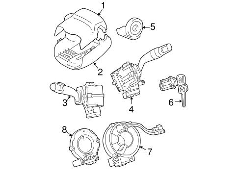 Toyota 84140-08070 Combination Switch