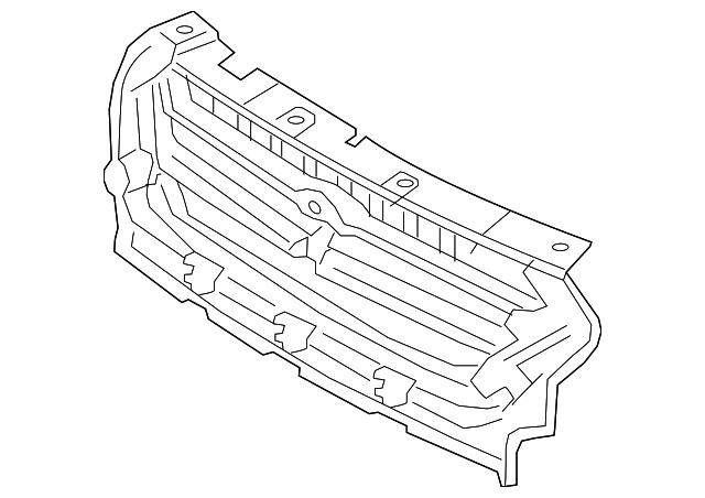 Genuine Ford Reinforcement Gj5z 8a284 Aa