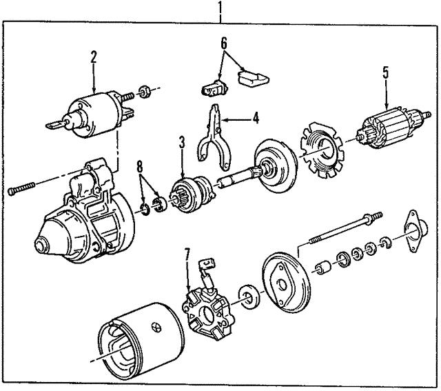 1989 1999 Bmw Armature 12411721287