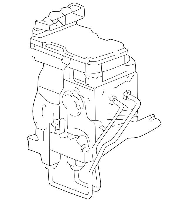 97 Dakota Ledningsdiagram Abs