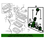 Oil Filter Housing - Volkswagen (03L-115-389-H)