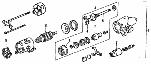 Shaft Set Assembly, Clutch