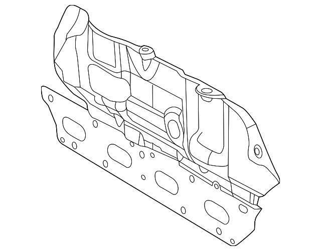 2012 2018 Fiat Manifold Gasket 52022302ad