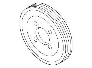 Pulley - BMW (11-51-7-504-077)