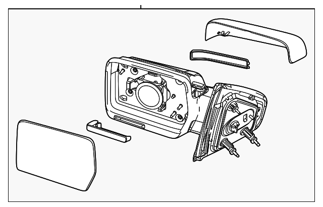 Ford Mirror Bl3z17682aa likewise  furthermore Gm Mirror Wiring Harness Connectors in addition Side Mirror Parts Diagram in addition Non Slip Stair Treads. on ford f 150 rear view mirror replacement